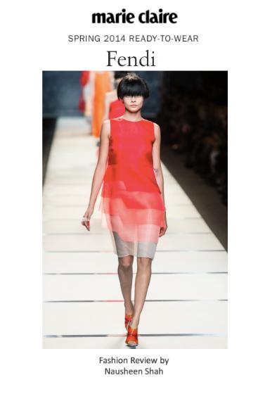 Milan Fashion Week Spring/Summer 2014: Fendi