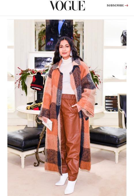 Vogue: Ralph Lauren Holiday Event