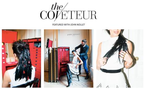 The Coveteur: Inside the Louis Vuitton Suitcase Hair Stylist John Nolle