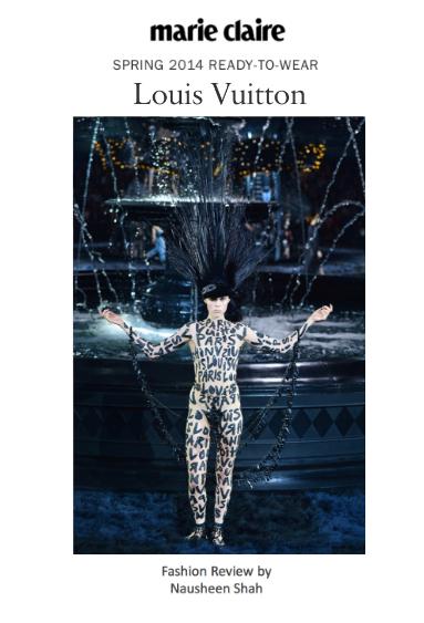 Paris Fashion Week S/S 2014: Louis Vuitton