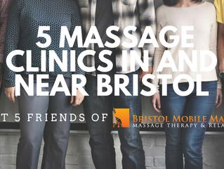 Meet Friends of Bristol Mobile Massage - 5 Massage Clinics in and near Bristol