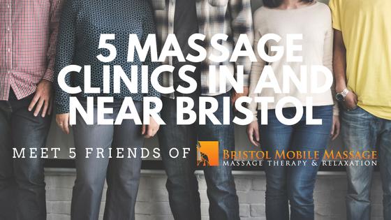 Meet five friends of Bristol Mobile Massage