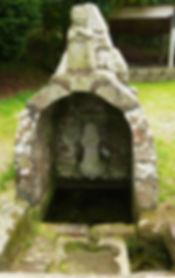 Fontaine chapelle Saint Maudez de Plouyé