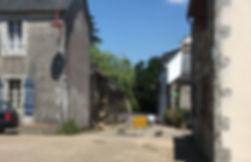 Effondrement ruine Provost photo prise l