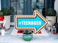 #Teenager Arrow
