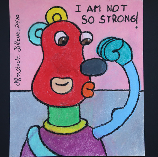 I'm not so strong !