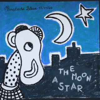The moon a star