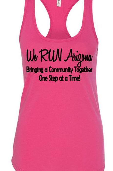 We RUN Arizona Women's Tank Top