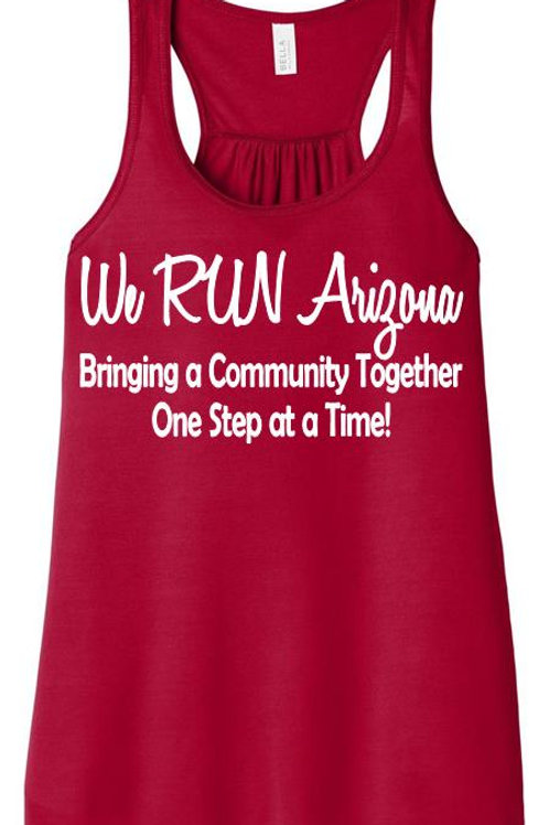 We RUN Arizona Women's Flowy Tank Top