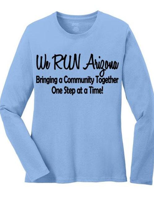 We RUN Arizona Women's Long Sleeve