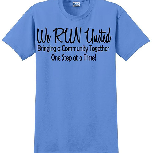 We RUN United Youth Short Sleeve