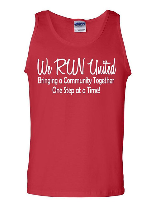 We RUN United Men's Tank Top