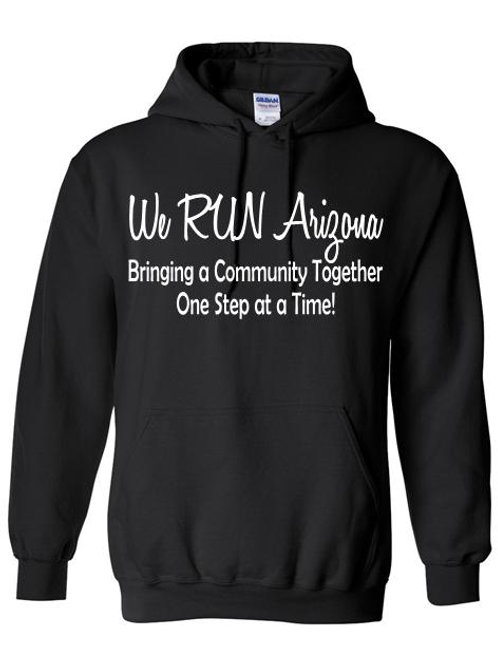 We RUN Arizona Men's Hoodie