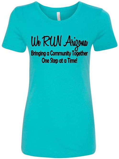 We RUN Arizona Women's Short Sleeve