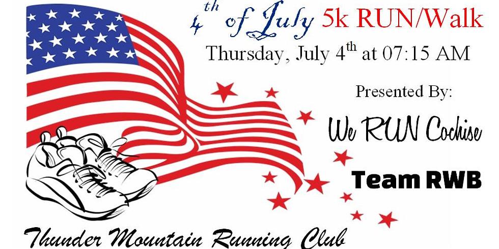 Team RWB/WRC/TMRC 4th of July 5k