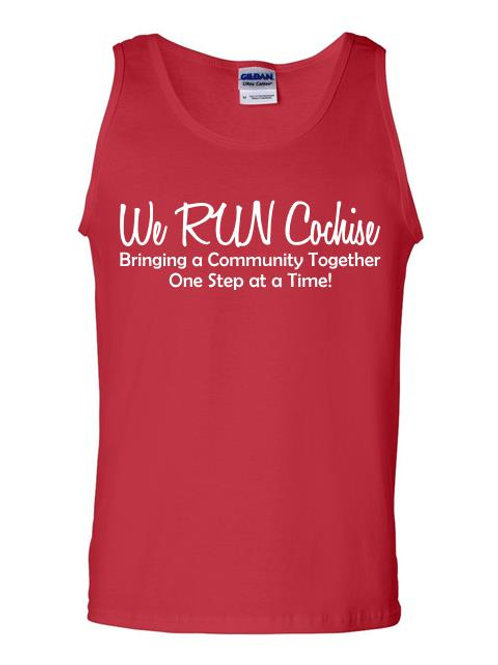 We RUN Cochise Men's Tank Top