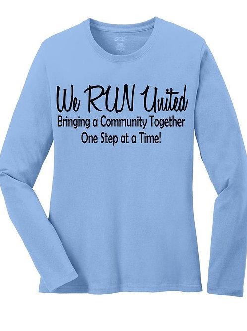 We RUN United Women's Long Sleeve
