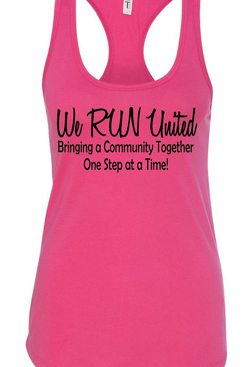 We RUN United Women's Tank Top