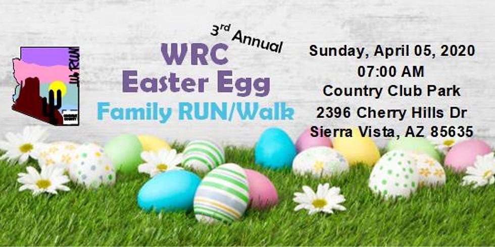 WRC 3rd Annual Family Easter Egg RUN/Walk