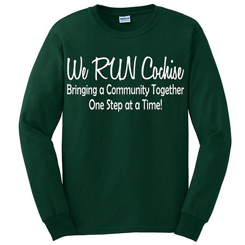 We RUN Cochise Men's Long Sleeve