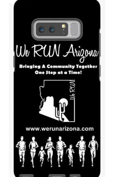 We RUN Arizona Phone Case - Black & White