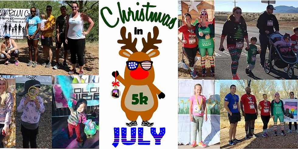 WRC 3rd Annual Christmas in July 5k