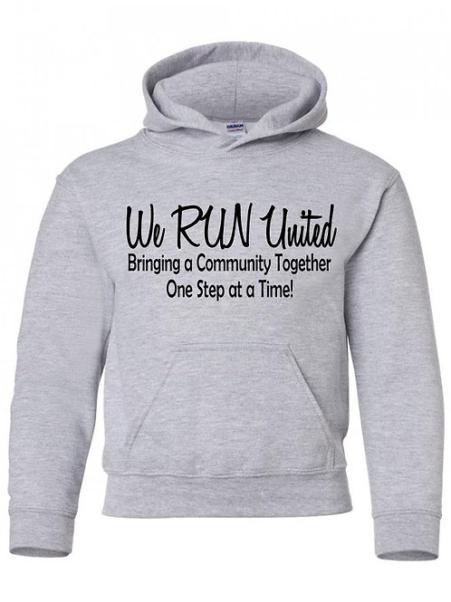 We RUN United Youth Hoodie