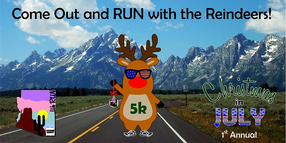 WRC 1st Annual Christmas in July 5k