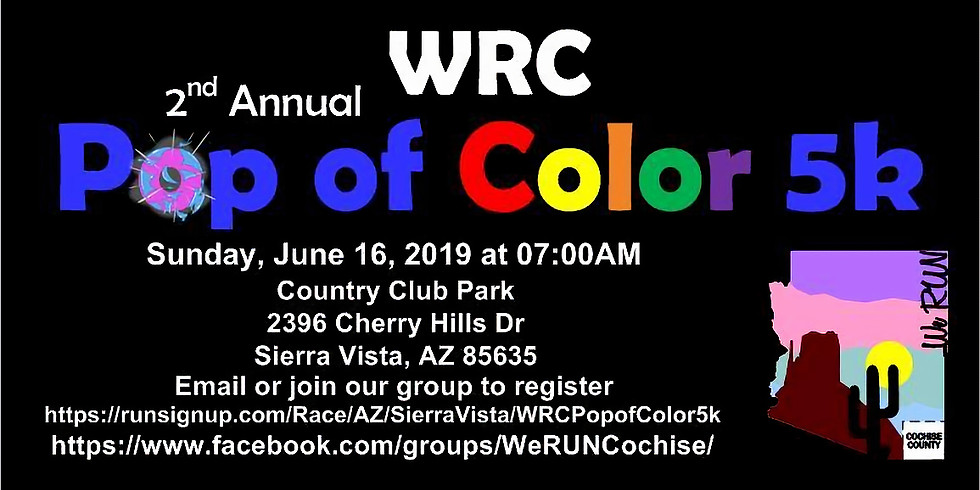 WRC 2nd Annual Pop of Color 5k