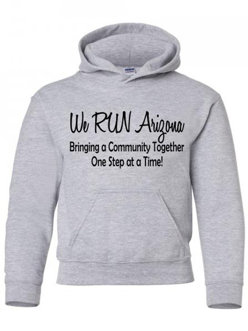 We RUN Arizona Youth Hoodie