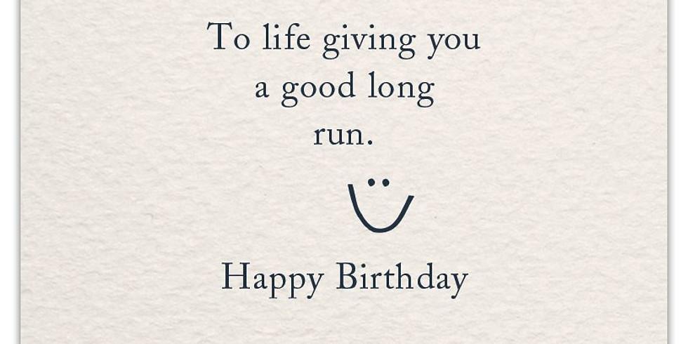 Belinda's Birthday Celebration RUN/Walk