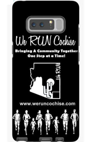 We RUN Cochise Phone Case - Black & White