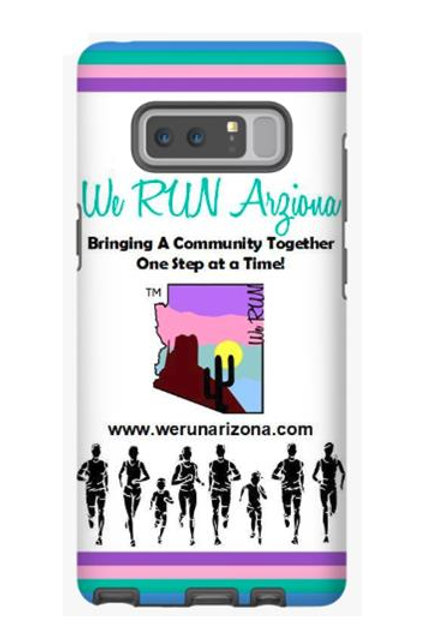 We RUN Arizona Phone Case - Color