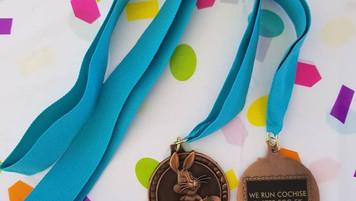 5k finisher medal