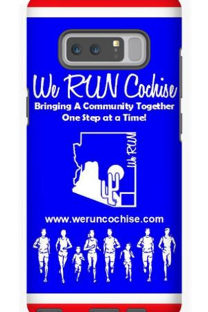 We RUN Cochise Phone Case - Red, White, Blue