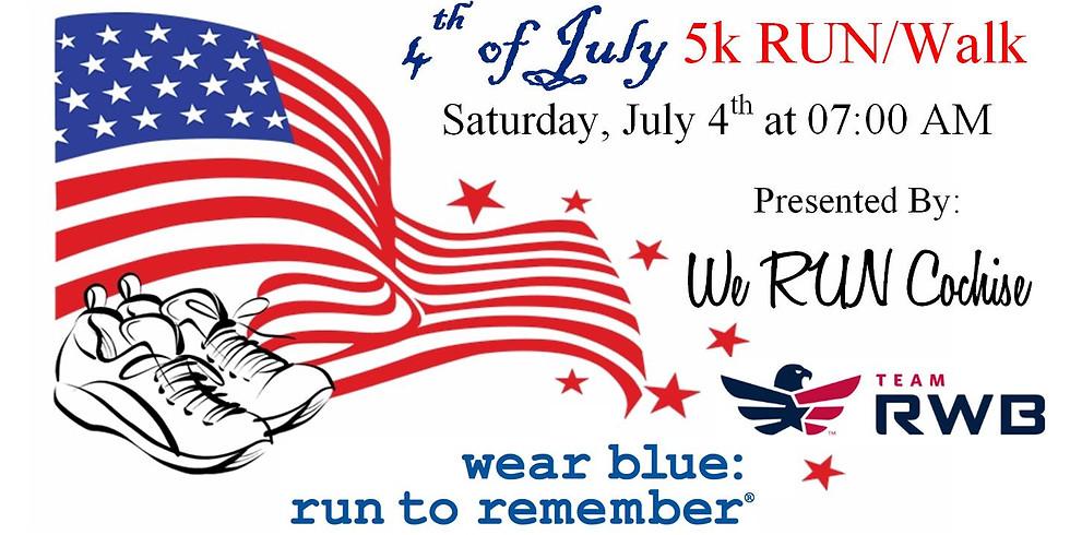 Team RWB/WRC/wear blue 4th of July 5k