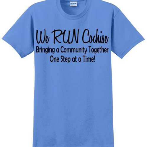 We RUN Cochise Youth Short Sleeve