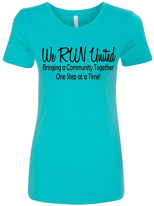 We RUN United Women's Short Sleeve