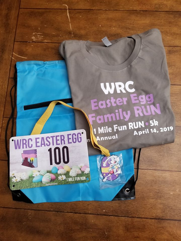 RUN packet with shirt