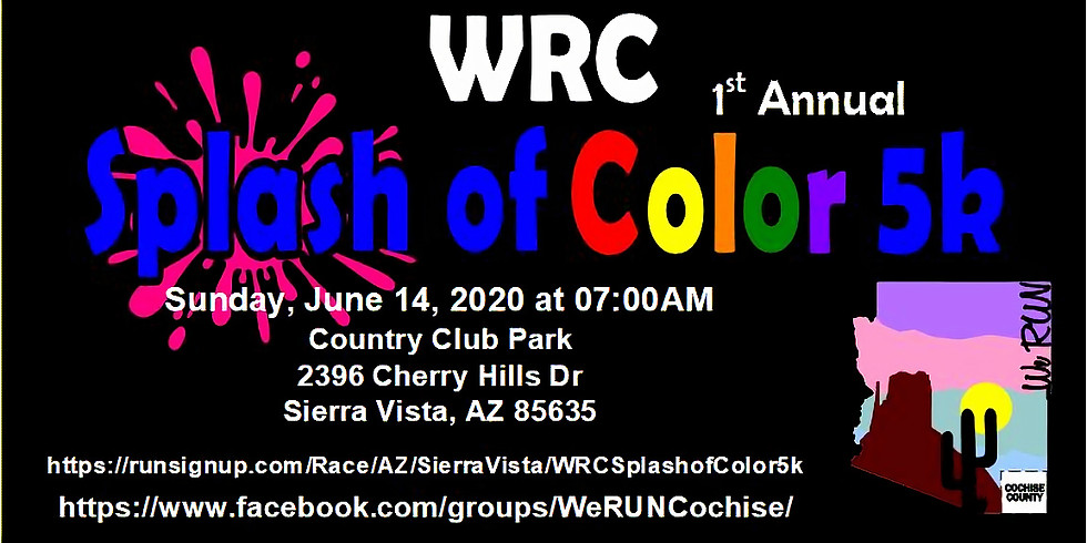 WRC 1st Annual Splash of Color 5k