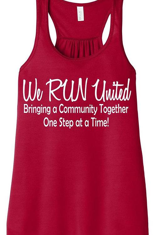 We RUN United Women's Flowy Tank Top