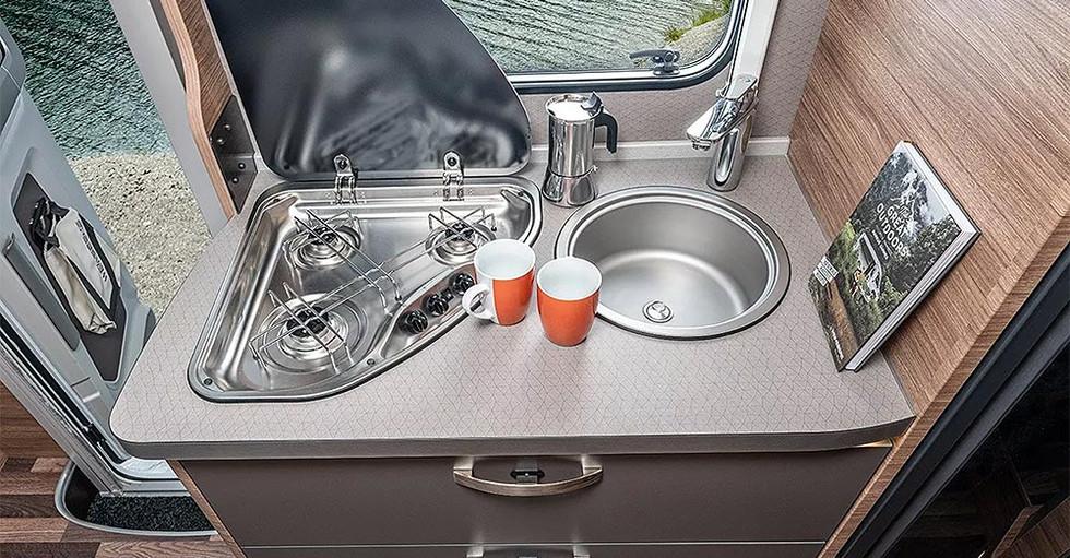 Weinsberg CaraLoft 650 ME - Küche