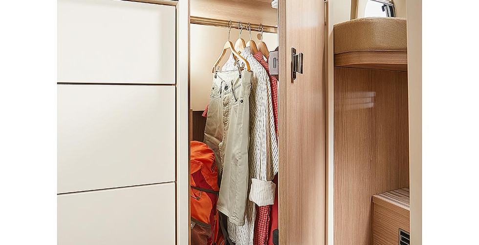 Malibu Van640LE GT - Kleiderschrank