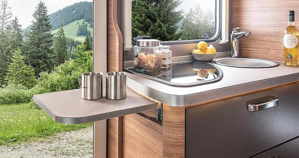 Weinsberg CaraCompact 600 MF - Küche