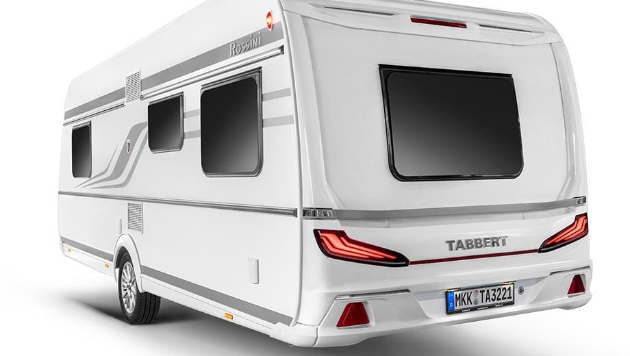 Tabbert Rossini 450E - Außenansicht
