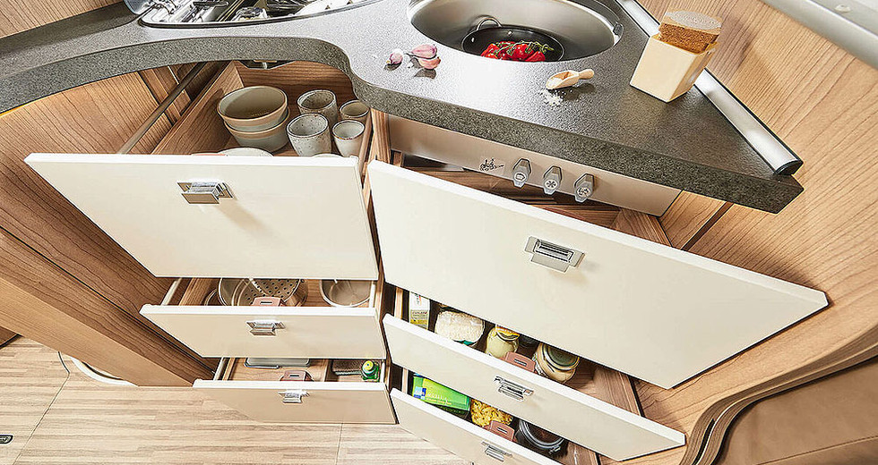 Malibu I430LE - Küche