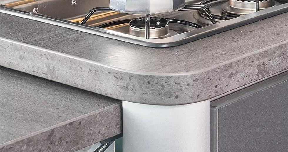 Weinsberg CaraTour 600DQ - Küche