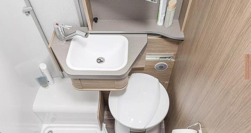 Weinsberg CaraHome 550 MG - Bad & Toilette