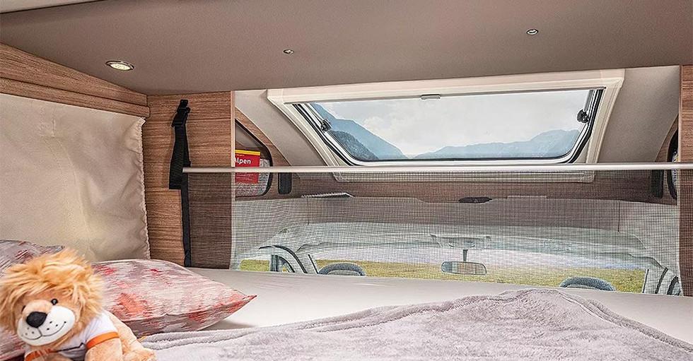 Weinsberg CaraSuite 700 ME - Hubbett
