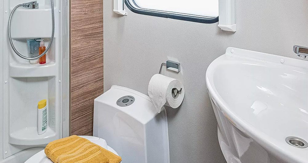 Weinsberg CaraSuite 650 MG - Bad & Toilette